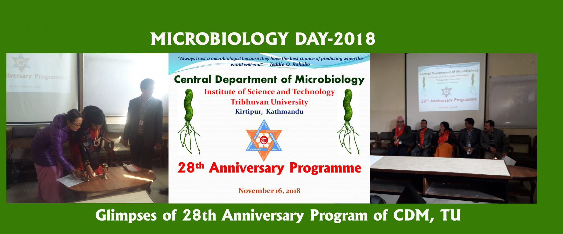 Central Department of Microbiology – Central Department of